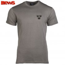 3 Crown T Shirts - Gray