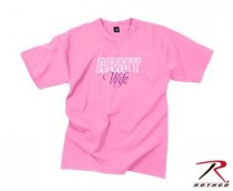 ROTHCO ARMY WIFE T-SHIRT / PINK