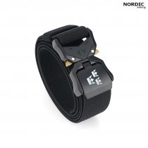 Nordic Army® Tactical Stretch Belt 3 Crown - Black