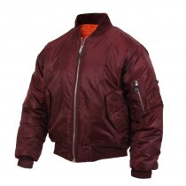 Rothco MA-1 Flight Jacket - Maroon