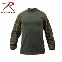 ROTHCO WOODLAND DIGITAL COMBAT SHIRT