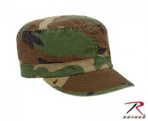 ROTHCO WOMEN ADJUSTABLE VINTAGE FATIGUE CAP - WOODLAND CAMO
