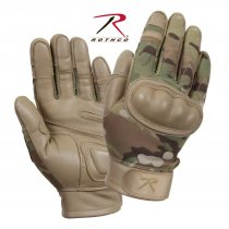 Rothco Flame and Heat Resistant Hard Knuckle - Multicam