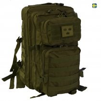 Army Gross Assault Backpack 50L Three Crowns - OD