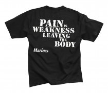 T-trøje MARINES PAIN IS Weakness