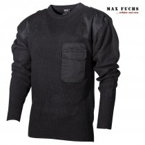 Max Fuch Pullover 100% Acryl - Sort