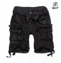 Brandit Savage Vintage Shorts Black