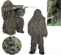 Jackal SNIPER ghillie suits woodland camo