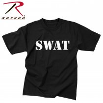 Rothco Law Enforcement SWAT T-Shirt Black