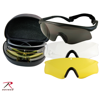 ROTCHO Fire TEC Goggles Kit