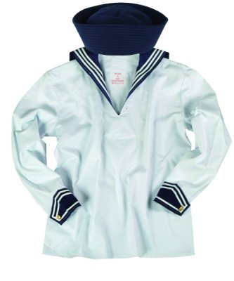 Sailor shirt med sailor hat navy blue