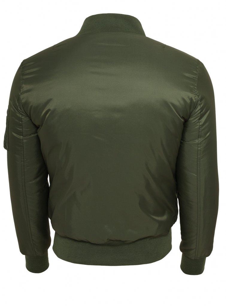 7b720e22 Klassisk Bomber Jacket - Grøn - Bomber Jakker kvinder - Damkläder ...